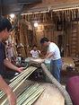 Yumi, Shibata XXI, Bambusvorbereitung.jp