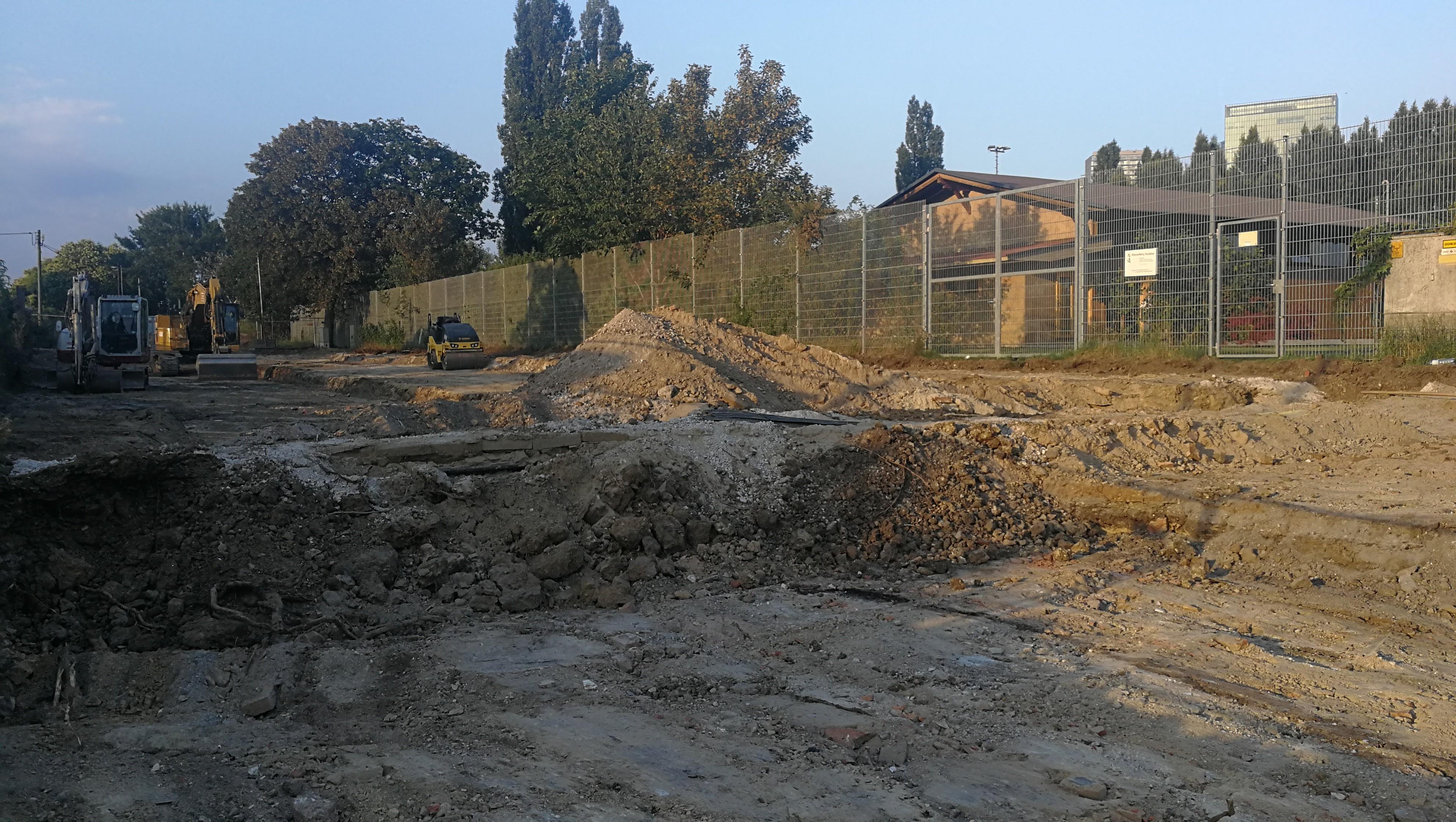 Baustelle keine Zufahrt