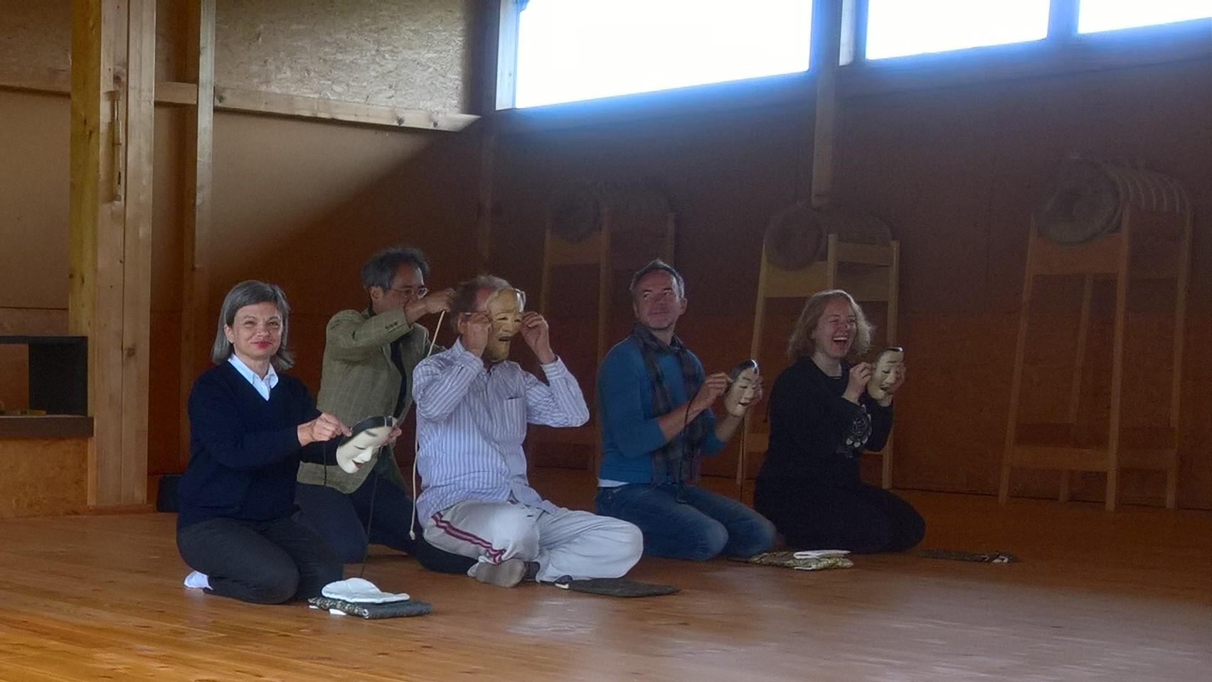 2017.06.17, WienerBerg Kyudojo, Noh Seminar 033