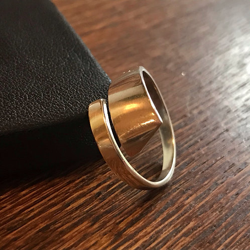 Sleek minimalist ring