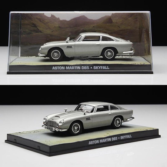 1:43 Scale Alloy Diecast Vehicle 007 Movie Car Model Adult Collect Display Show