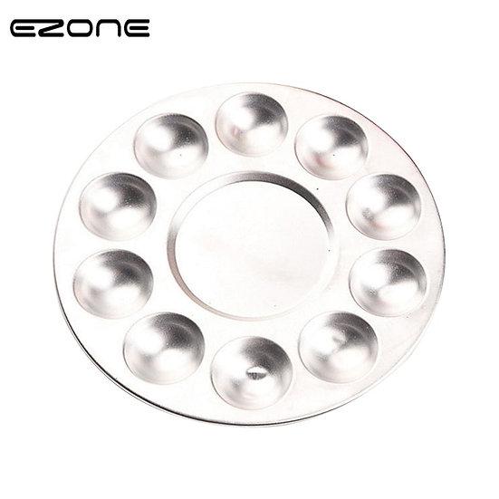 EZONE Metal 10 Holes Colour Palette Oil Water