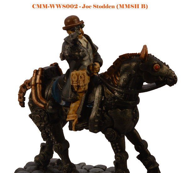 Joe Stodden (Mounted Only) (MMSH B) (1fig)