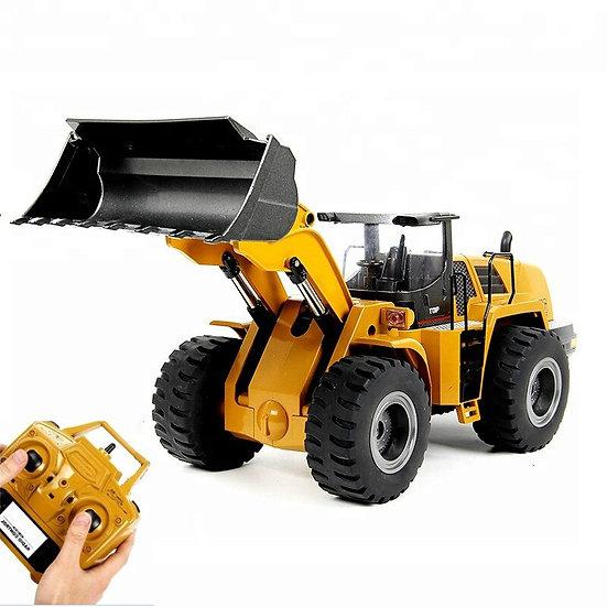 1:14 iPiggy Remote Control Excavator RTR 2.4GHz Hobby Bulldozer Alloy Truck