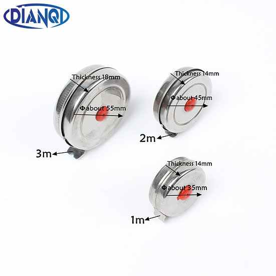1m 2m 3m Mini Retractable Tape Measure for gaming and general measuring