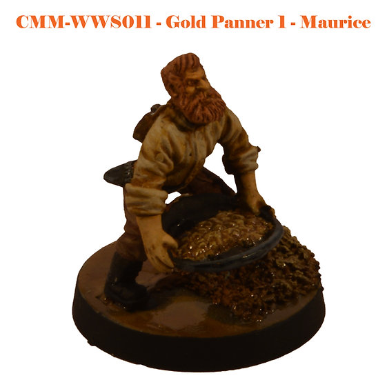 Gold Panner 1 - Maurice (1fig)