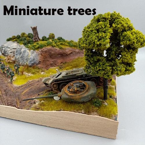 Miniature Trees Landscape Tree Model - Various