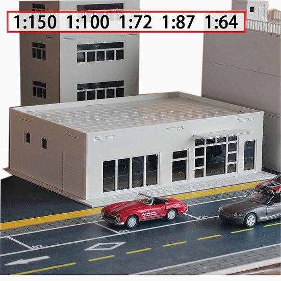 Sc ales 1:150 / 100 / 72 / 87 / 64 - Building  Store Convenience Model  -kit