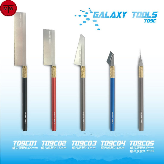 GALAXY Hobby Craft Saw With Handle T09C 5 Shape to Choose from