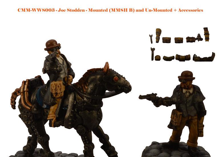 Joe Stodden (Mounted & Unmounted) (MMSH B) (2fig)