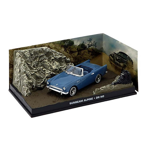 1:43 Scale Diecast Alloy Vehicle 1962 First 007 Car - Collection Souvenir