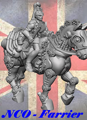 Cog Division - Marching NCO Farrier (1 Figs)