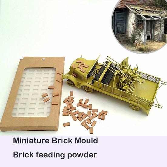 1:35 Brick Mould Silica Gel Mould