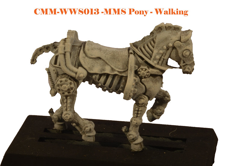 Mitchell Mechanical Steam Pony (1fig) (Various)