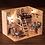 Thumbnail: 1:160 Scale- iiE CREATE Dollhouse Dark Blue Dream Mini DIY Kit -Lights and Cover