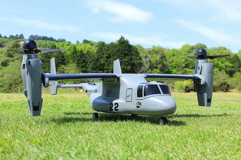 RC Plane Model V22 V-22 Vertical Take Off and Landing VTOL PNP KIT