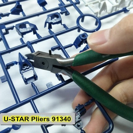 Ustar 91340 Precision Cutting Pliers Nippers for Assembling Model Building