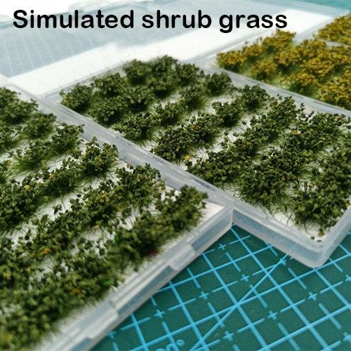 Bush Grass Model Landscape - DIY Handmade Model Scene