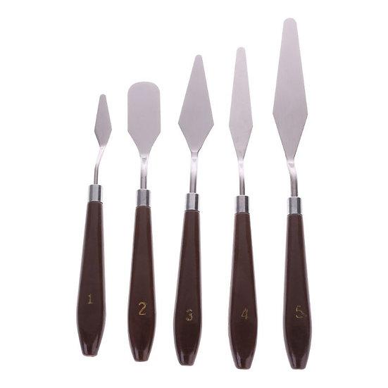 5pcs Set Artist Painting Palette Knife Paint Art / Thick Paint Application