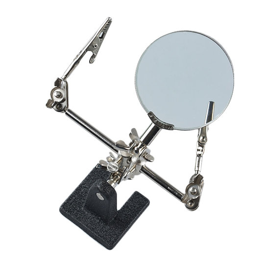 Magnifying Glass Vice Vertical Workbench Model Building Tool Sets
