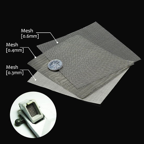 Model Detailing Material -  Air Outlet Network Stainless Steel Mesh Etched Sheet