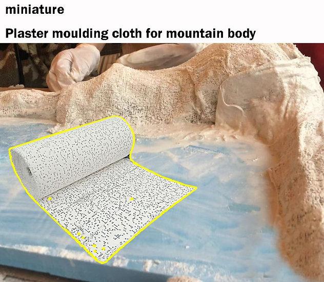 Plaster Moulding Cloth DIY Modification Material for Landscape Scene