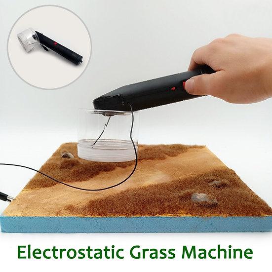 1:48 Scale - Terrain Scene Electrostatic Grass Machine Model Lawn Making Tool