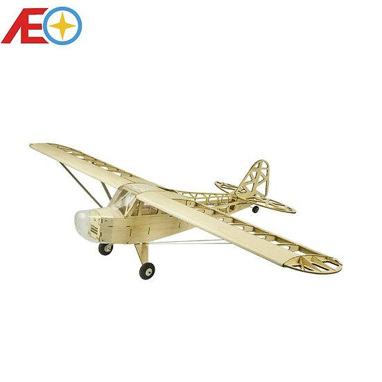 New Piper J3 Cub 1200mm Wingspan Balsa Wood Airplane Models