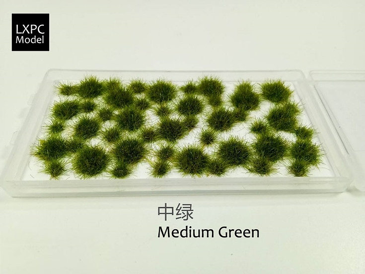 Multi-Terrain Irregular Grass Cluster 5mm Model Making Material