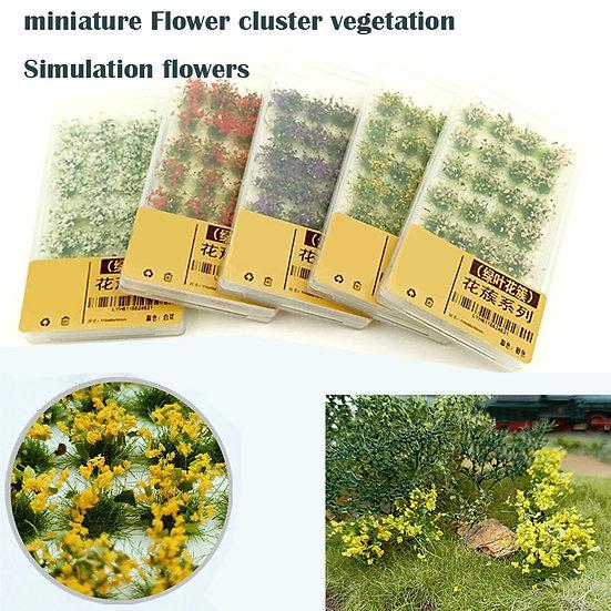 Miniature  Flower Cluster  - Simulation Flowers - DIY Material