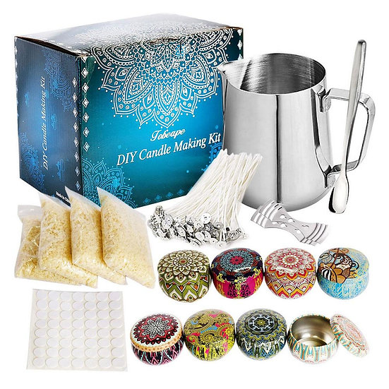 67 Pcs Candle Making Kit - Fresh Handmade Tool Sets for Making Candles