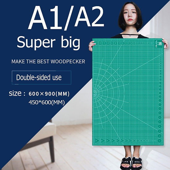 Cutting Mats A1 & A2 Grid Double-Sided Plate Design Engraving Model