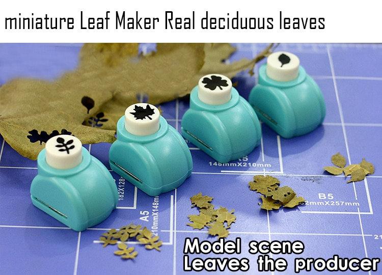 Miniature Leaf Maker Real Deciduous Leaves Model Scenario Making Tool  DIY Tool