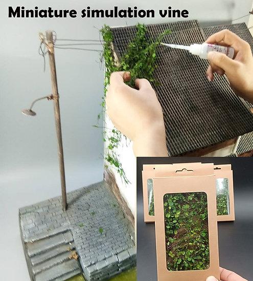 Miniature Model Vine,  Mountain Tiger Vegetation - DIY Miniature Scene Materials