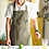 Thumbnail: Thick Canvas Unisex Apron for Women Men - not water proof
