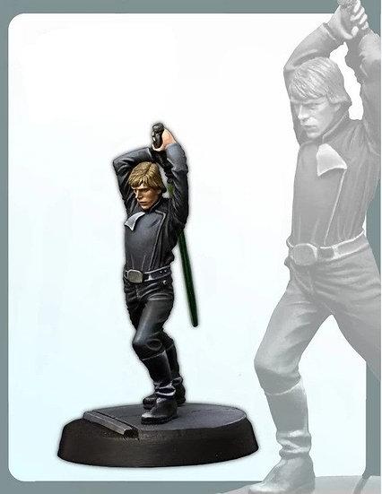 Classic 30MM Luke Skywalker Miniatures - Unpainted Resin Model Figure Kit