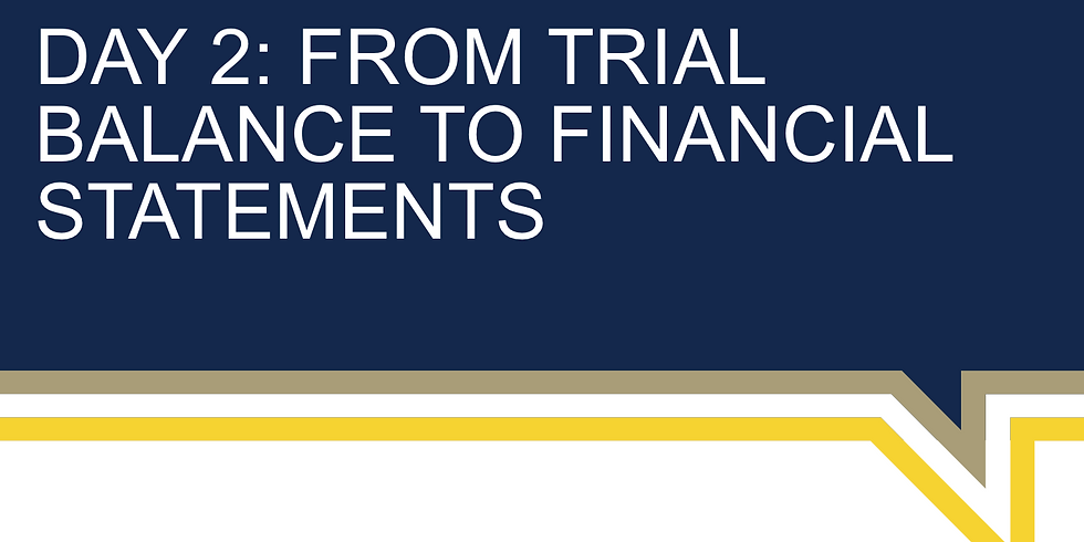 From Trial Balance to Financial Statements