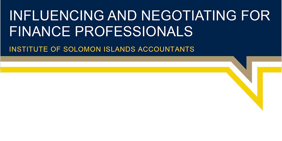 Influencing and Negotiating for Finance Professionals