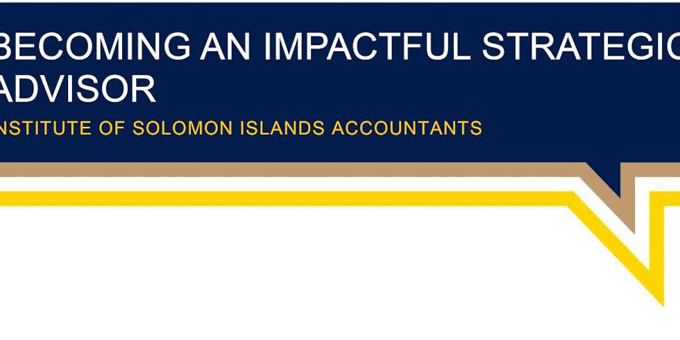 Becoming an Impactful Strategic Advisor