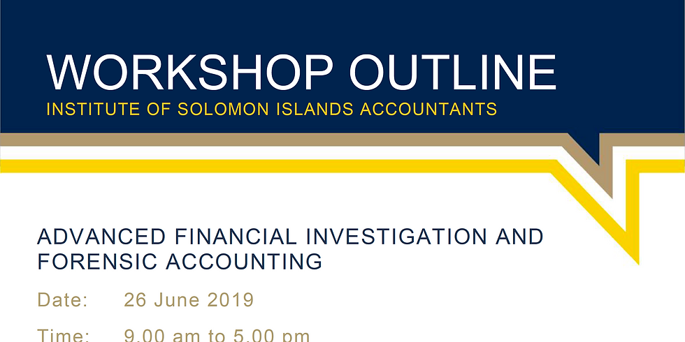 Advanced Financial Investigation and Forensic Accounting