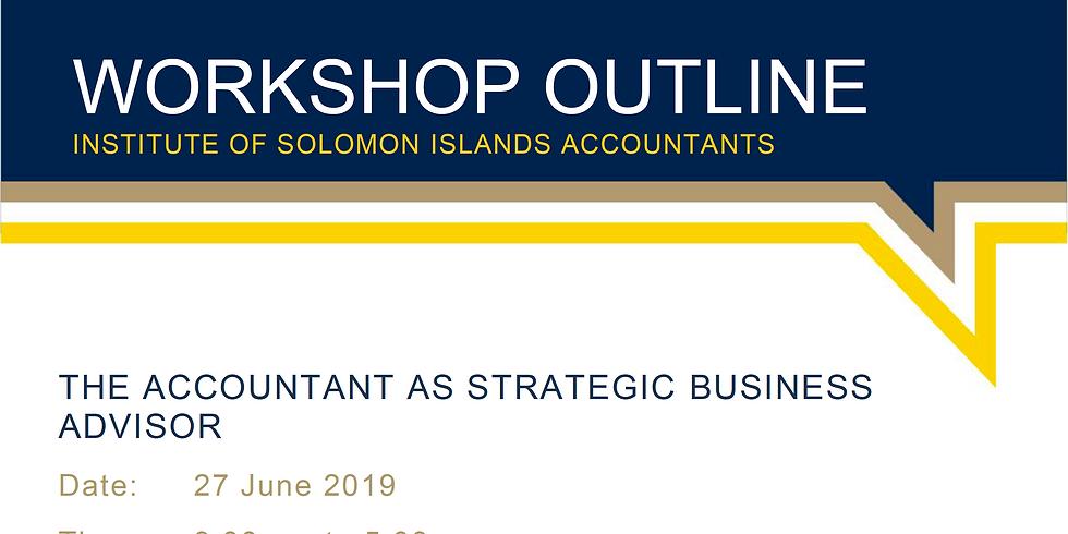 The Accountant as Strategic Business Advisor