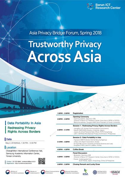 Asia Privacy Bridge Forum, Spring 2018
