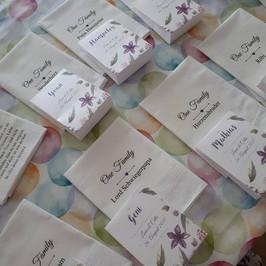 Bedruckte Stofftaschentücher