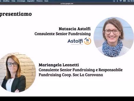 """Webinar """"Fundraising e Scuole. Come ripartire dopo l'Emergenza"""""""