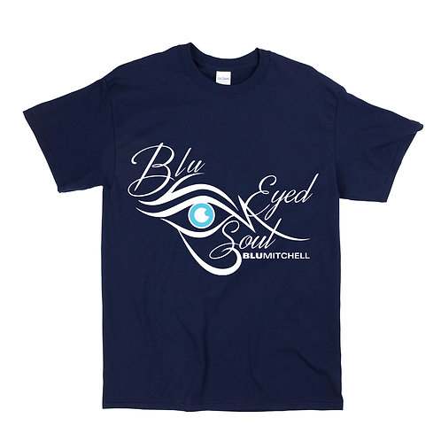 Mens Navy Blue Tee