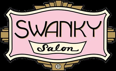 Swanky Salon logo