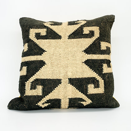 Smoke Jute Pillow