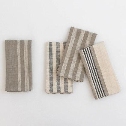 Striped Napkins Set