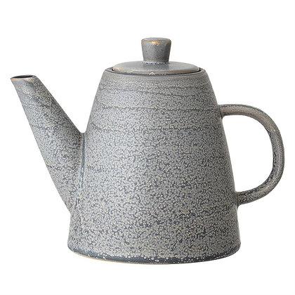 Grey Stoneware Teapot