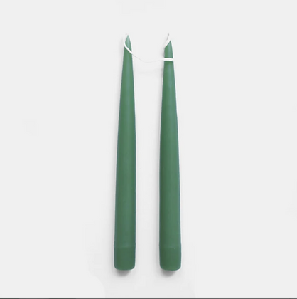 Danica Tapered Candles Pair  - Willow